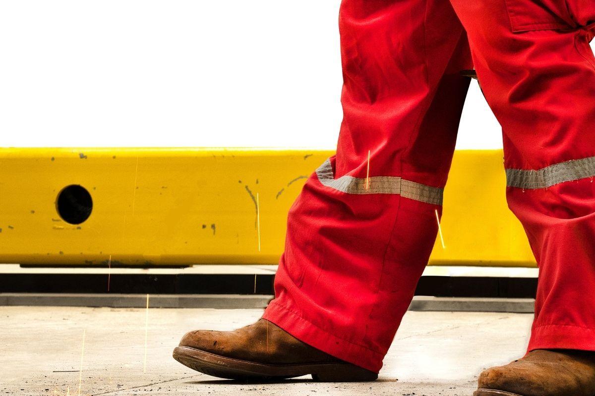Builders workwear boots